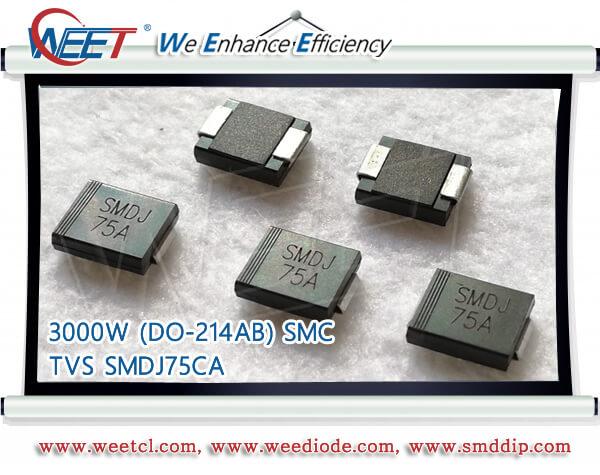 Pack of 100 2 Pins DO-214AA Bidirectional 18.2 V SMBJ Series SMBJ11CA 11 V SMBJ11CA TVS Diode